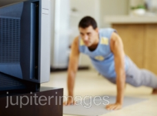 Hate commercials? Put the TV on mute and do some pushups!
